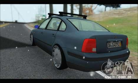 VW Passat para GTA San Andreas vista direita