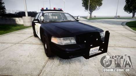 Ford Crown Victoria Highway Patrol [ELS] Vision para GTA 4