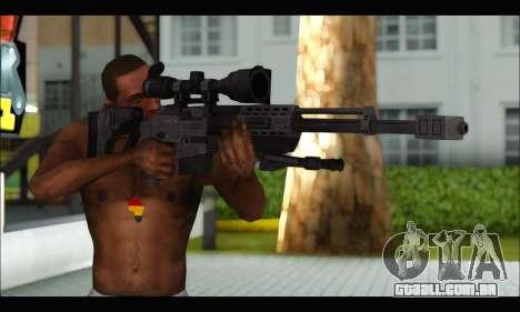 Raab KM50 Sniper Rifle From F.E.A.R. 2 para GTA San Andreas terceira tela
