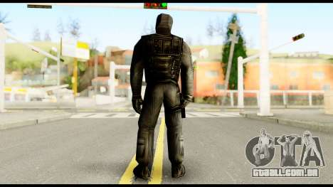 Counter Strike Skin 6 para GTA San Andreas segunda tela