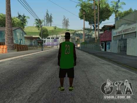 Fam3 Skin para GTA San Andreas segunda tela
