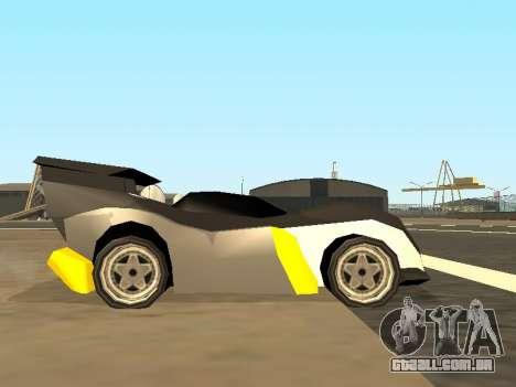 RC Bandit (Automotive) para GTA San Andreas vista traseira