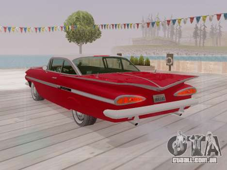 Chevrolet Impala 1959 para GTA San Andreas interior