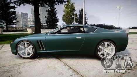 Dewbauchee Super GTR para GTA 4 esquerda vista