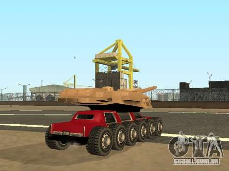 Tink Tank para GTA San Andreas esquerda vista