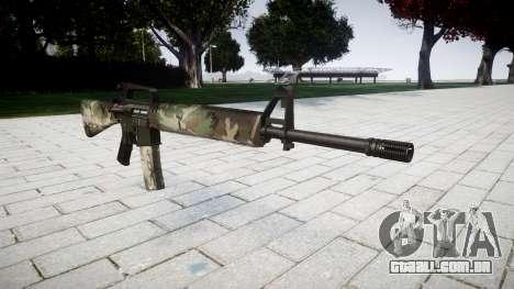 O M16A2 rifle mata para GTA 4