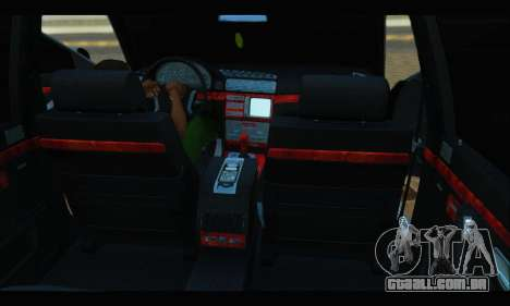 BMW 750iL para vista lateral GTA San Andreas