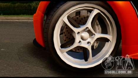 GTA 5 Dewbauchee Rapid GT Cabrio [IVF] para GTA San Andreas traseira esquerda vista