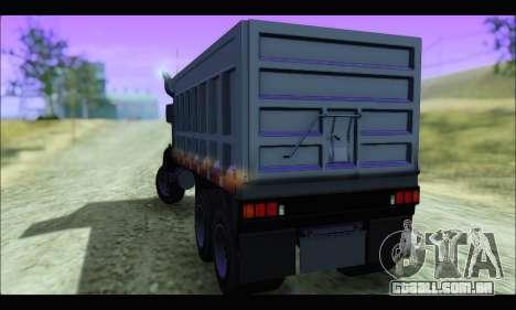 HVY Biff (GTA IV) para GTA San Andreas esquerda vista