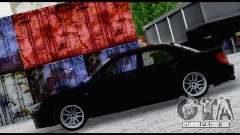 Subaru Impreza Hellaflush 2004 para GTA San Andreas vista interior
