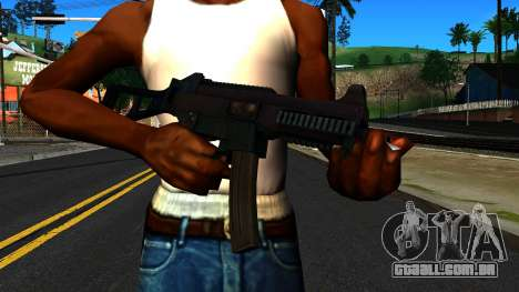 UMP9 from Battlefield 4 v1 para GTA San Andreas terceira tela