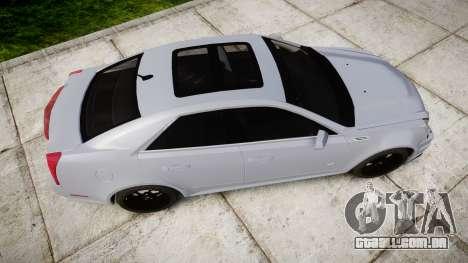 Cadillac CTS-V 2010 para GTA 4 vista direita