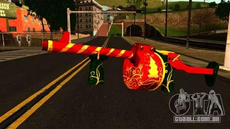 Natal Espingarda para GTA San Andreas
