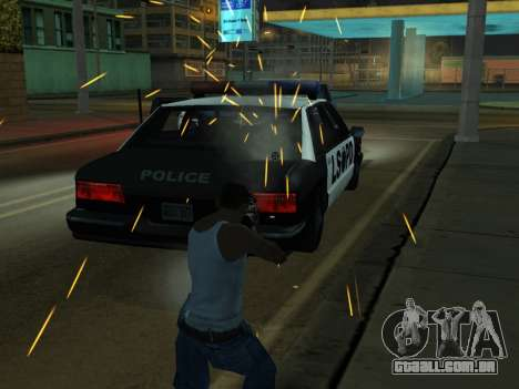 New Effects Pack White Version para GTA San Andreas décimo tela