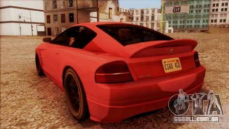 Schyster Fusilade Sport 1.0 (HQLM) para GTA San Andreas esquerda vista