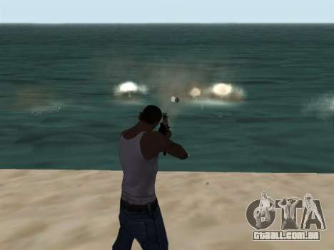 New Effects Pack White Version para GTA San Andreas segunda tela