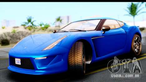 GTA 5 Grotti Carbonizzare v3 para GTA San Andreas