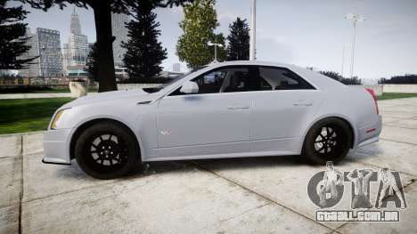 Cadillac CTS-V 2010 para GTA 4 esquerda vista