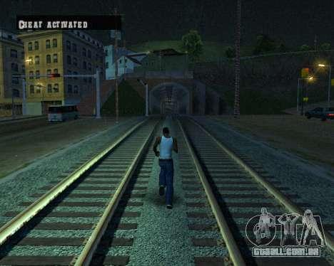 Colormod Dark Low para GTA San Andreas nono tela