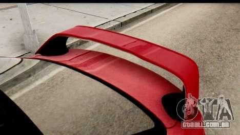 Mitsubishi Lancer Evolution FQ-400 V2 para GTA San Andreas vista direita