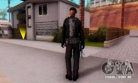 Boina Negra (FES) para GTA San Andreas segunda tela
