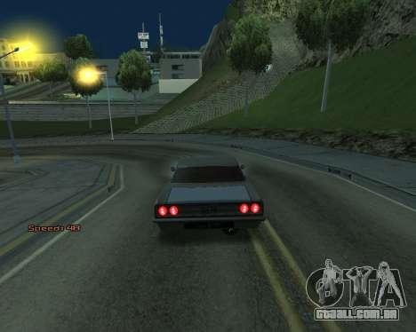 Car Speed para GTA San Andreas terceira tela