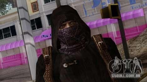 Resident Evil Skin 8 para GTA San Andreas terceira tela