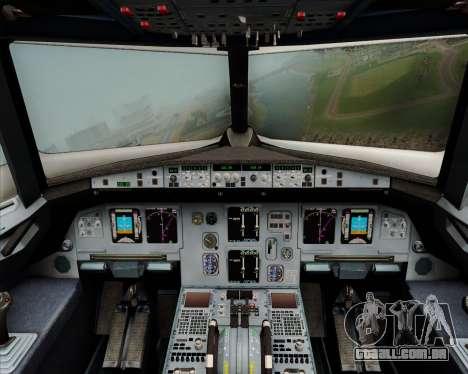 Airbus A320-200 Citilink para GTA San Andreas interior