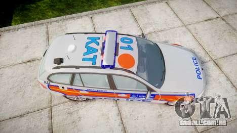 BMW 325d E91 2010 Metropolitan Police [ELS] para GTA 4 vista direita