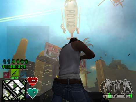 C-HUD Classic v4.1 para GTA San Andreas terceira tela