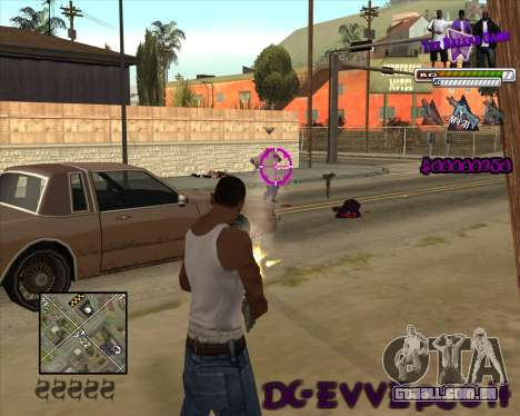 C-HUD for Ballas para GTA San Andreas segunda tela
