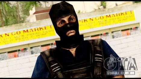 Counter Strike Skin 2 para GTA San Andreas terceira tela