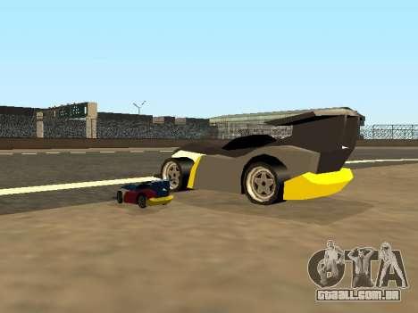 RC Bandit (Automotive) para GTA San Andreas vista inferior