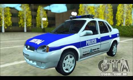 Chevrolet Corsa Policia Bonaerense para GTA San Andreas