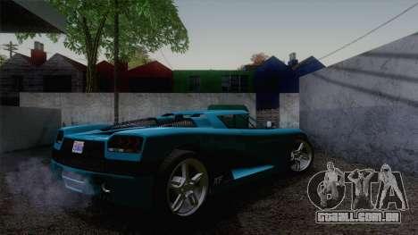 GTA V Overflod Entity XF v.2 para GTA San Andreas esquerda vista