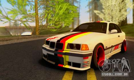 BMW M3 E36 German Style para GTA San Andreas