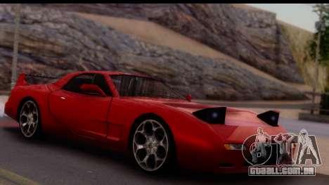 New ZR-350 (ZR-380) v1.0 para GTA San Andreas vista direita