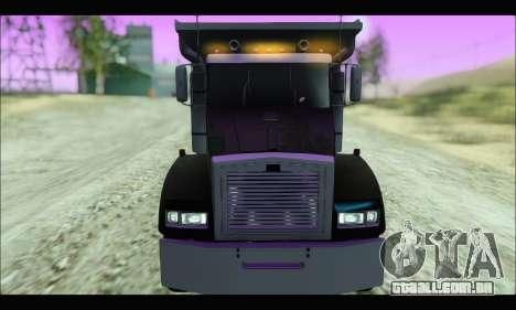 HVY Biff (GTA IV) para GTA San Andreas traseira esquerda vista