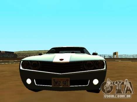 GTA 5 Bravado Gauntlet para GTA San Andreas traseira esquerda vista