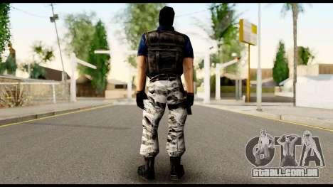 Counter Strike Skin 2 para GTA San Andreas segunda tela