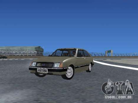 Chevrolet Chevette Hatch para o motor de GTA San Andreas