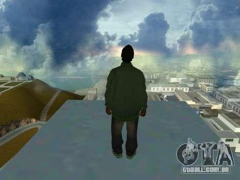Ryder Skin Grove St. Family para GTA San Andreas segunda tela