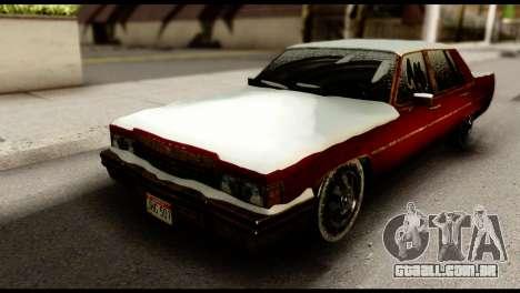 GTA 5 Emperor para GTA San Andreas