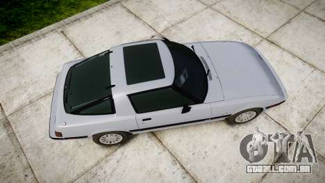 Mazda RX-7 1985 FB3s [EPM] para GTA 4 vista direita