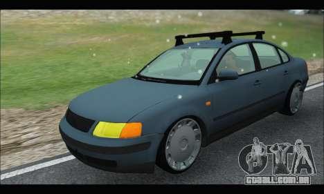 VW Passat para GTA San Andreas vista traseira