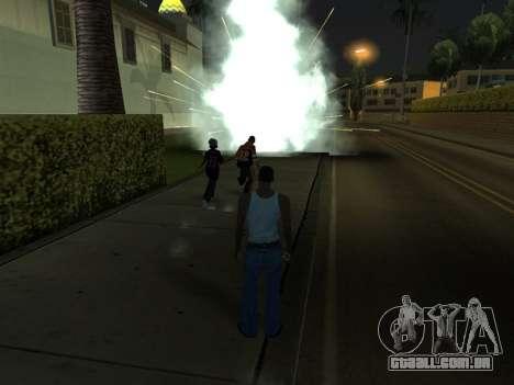 New Effects Pack White Version para GTA San Andreas décima primeira imagem de tela