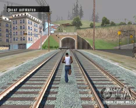 Colormod Dark Low para GTA San Andreas por diante tela