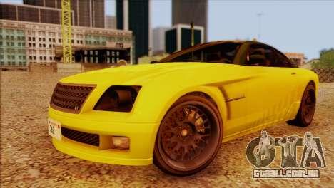 Schyster Fusilade Sport 1.0 (HQLM) para GTA San Andreas vista direita