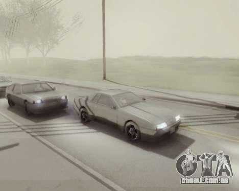 Gráfico Mod v5.0 для GTA San Andreas para GTA San Andreas quinto tela