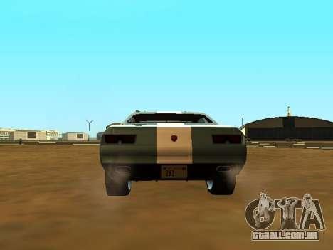 GTA 5 Bravado Gauntlet para GTA San Andreas vista superior